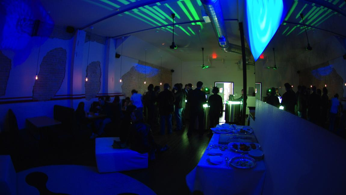 Interactive GameTap event with lighting from High Beam Events